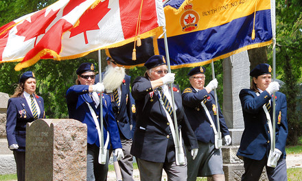 {Blyth Legion hosts annual decoration service at Union Cemetery - June 14, 2018}